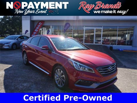 Certified Pre-Owned 2017 Hyundai Sonata Sport FWD 4D Sedan