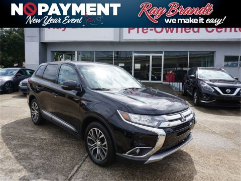 Pre-Owned 2016 Mitsubishi Outlander SE FWD 4D Sport Utility