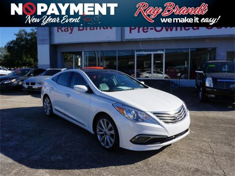 Certified Pre-Owned 2017 Hyundai Azera Limited FWD 4D Sedan